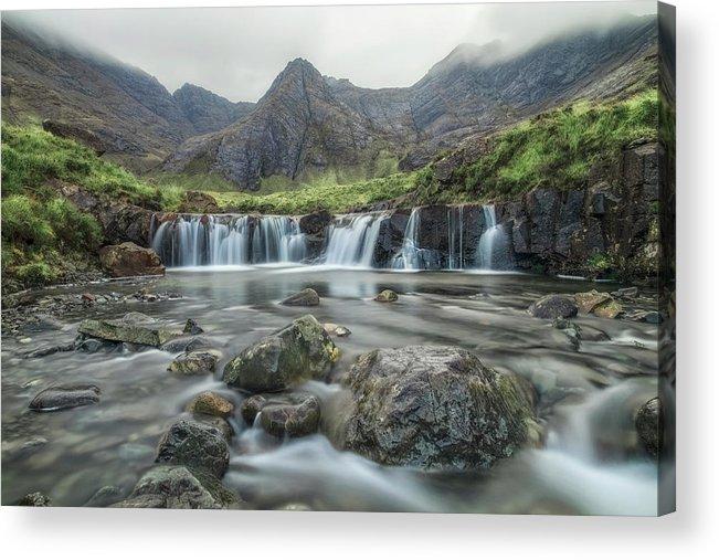 Fairy Pools Acrylic Print featuring the photograph Fairy Pools - Isle Of Skye by Joana Kruse