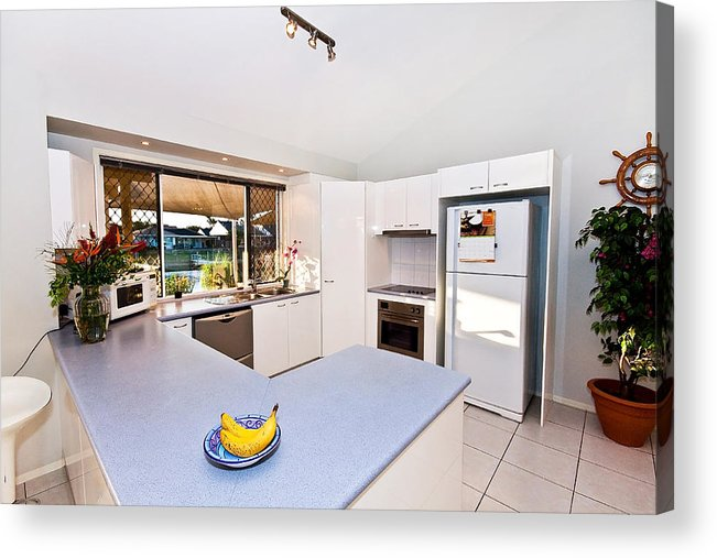 Kitchen Acrylic Print featuring the photograph Kitchen by Darren Burton
