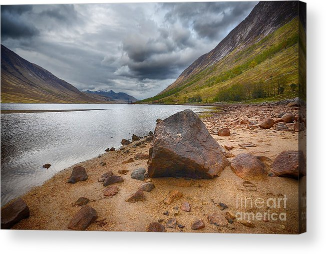 Loch Etive Acrylic Print featuring the photograph Loch Etive by Smart Aviation