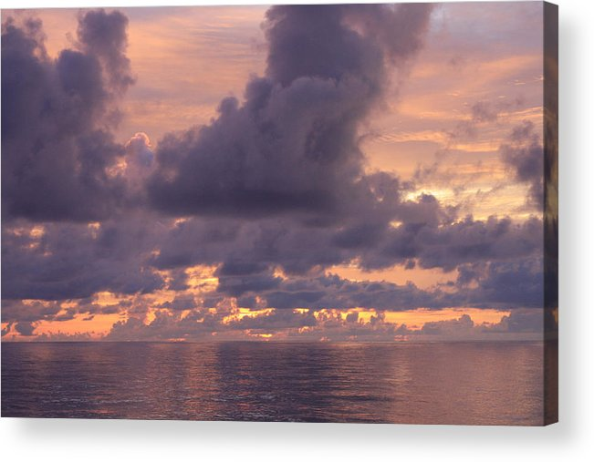Sunrise Acrylic Print featuring the photograph Sunrise by William Rogers
