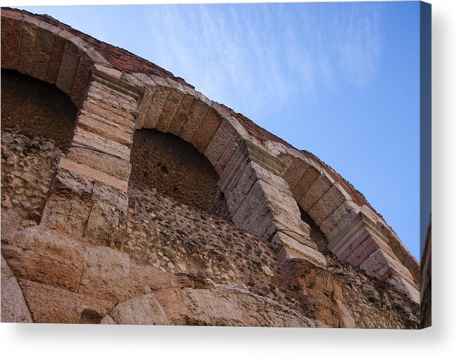 Amphitheatre Acrylic Print featuring the photograph Arena by Andre Goncalves
