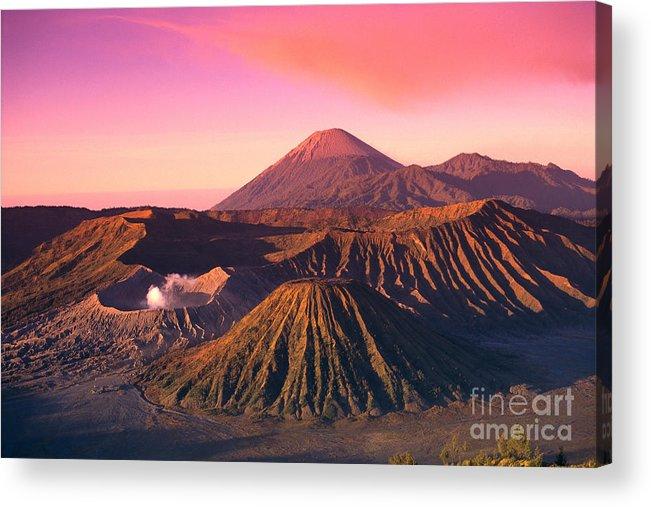Bromo Acrylic Print featuring the photograph Bromo Tengger Semeru by Gloria & Richard Maschmeyer - Printscapes