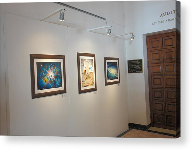 Exhibition Cozumel Museum Acrylic Print featuring the photograph Exhibition Cozumel Museum by Angel Ortiz