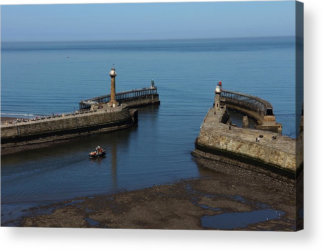 Whitby Acrylic Print featuring the photograph Whitby by Stephen Almond