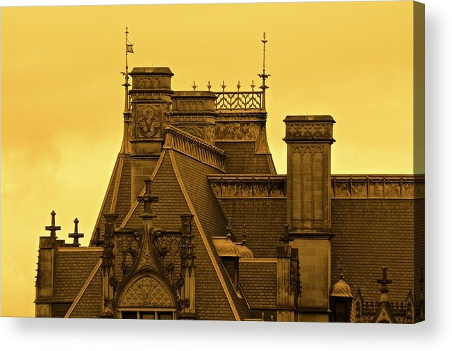 Biltmore Estate House Old Places Acrylic Print featuring the photograph Biltmore Estate by Frank Conrad