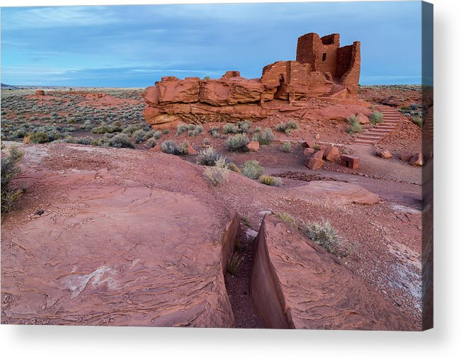 Wupatki Acrylic Print featuring the photograph Wupatki National Monument by Jon Manjeot
