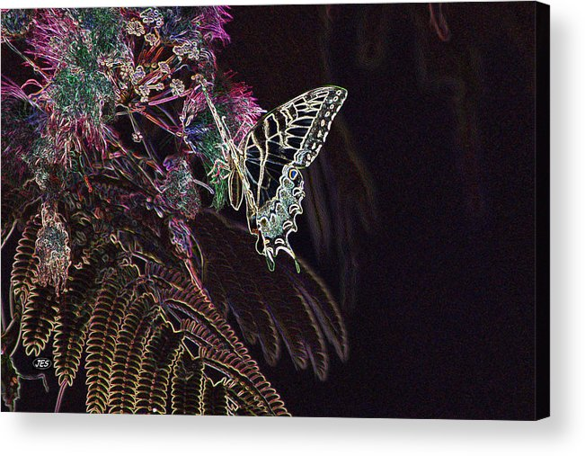 Air Acrylic Print featuring the photograph 5815 2 by Jim Simms