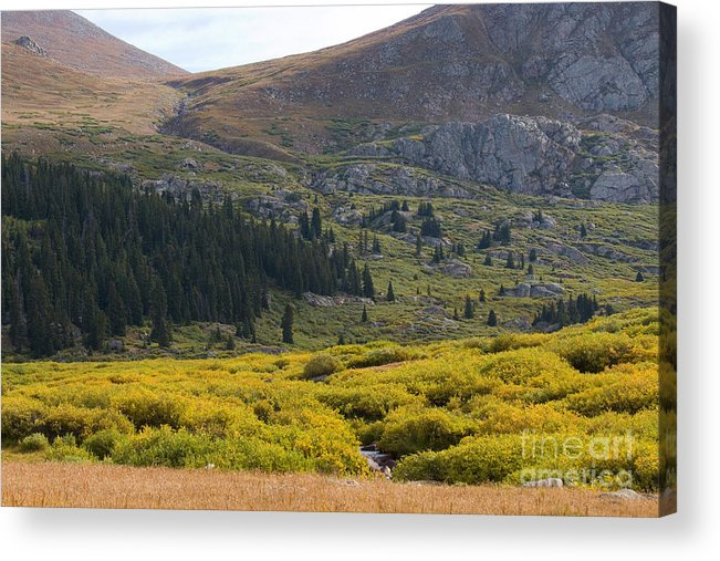 Mount Evans Wilderness Acrylic Print featuring the photograph Mount Bierstadt In The Arapahoe National Forest by Steve Krull