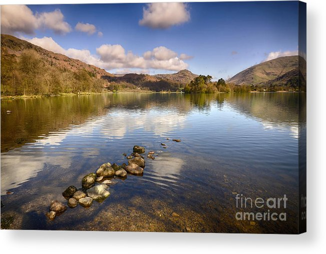 Grasmere Acrylic Print featuring the photograph Grasmere by Smart Aviation