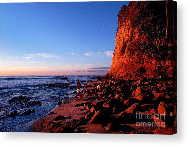 Malibu Acrylic Print featuring the photograph Malibu Sunrise by Marc Bittan