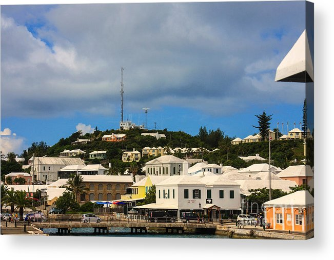Port Hamilton Acrylic Print featuring the photograph Bermuda by William Rogers
