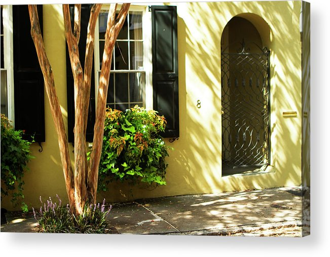 Photo Acrylic Print featuring the photograph 8 Lamboll Street by Alan Hausenflock