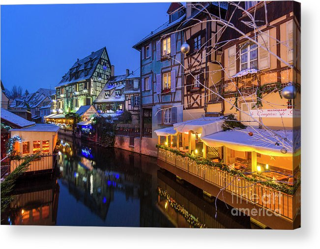Alsace Acrylic Print featuring the photograph Colmar,petite Venice, Alsace, France, by Marco Arduino