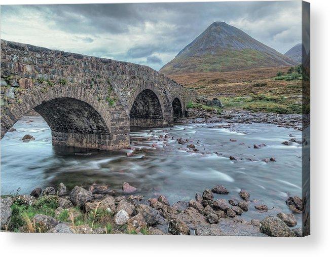 Sligachan Acrylic Print featuring the photograph Sligachan - Isle Of Skye by Joana Kruse
