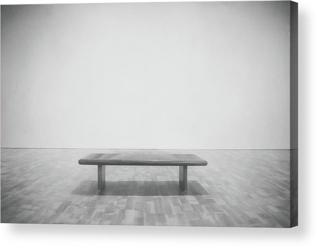 Milwaukee Art Museum Acrylic Print featuring the photograph A Place To Sit 3 by Scott Norris
