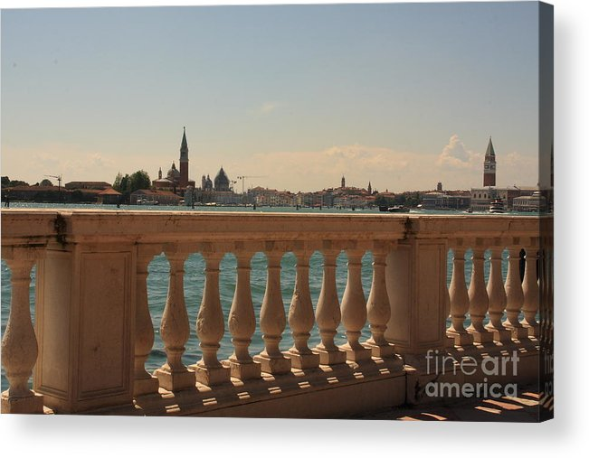 Venice Acrylic Print featuring the photograph A View Of Venice by Michael Henderson