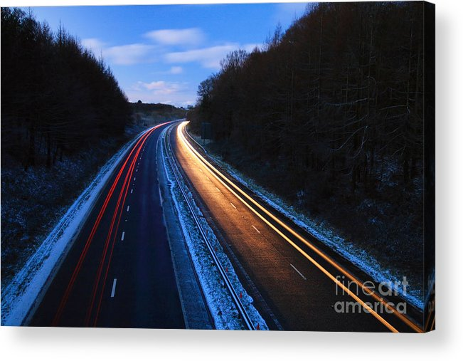 A30 Acrylic Print featuring the photograph A30 by Carl Whitfield