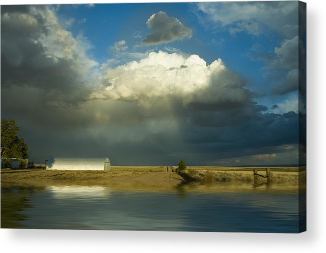 Storm Acrylic Print featuring the photograph After The Storm by Jerry McElroy