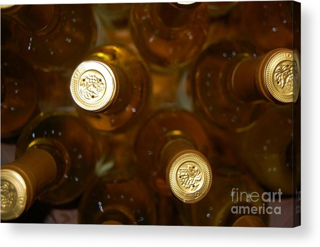 Wine Acrylic Print featuring the photograph Aged Well by Debbi Granruth