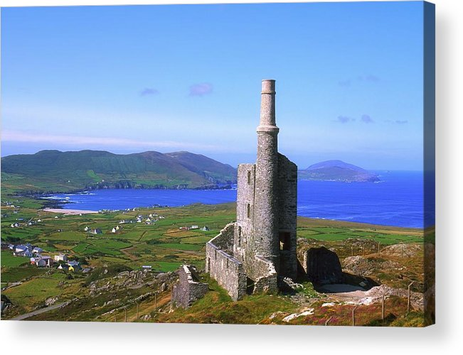 Agriculture Acrylic Print featuring the photograph Allihies, Co Cork, Ireland Old Mine by The Irish Image Collection