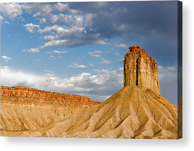 Mountain Acrylic Print featuring the photograph Amazing Mesa Verde Country by Christine Till