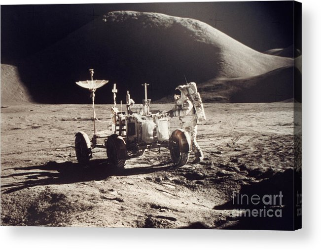 1971 Acrylic Print featuring the photograph Apollo 15, 1971 by Granger
