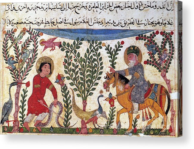 12th Century Acrylic Print featuring the photograph Arabic Physician by Granger