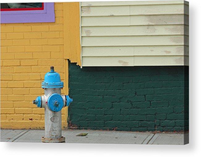 Ar;ington Acrylic Print featuring the photograph Arlington Hydrant by Art Ferrier