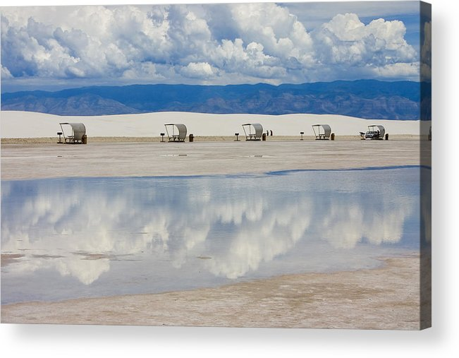 New Mexico Acrylic Print featuring the photograph Armageddon Picnic by Skip Hunt