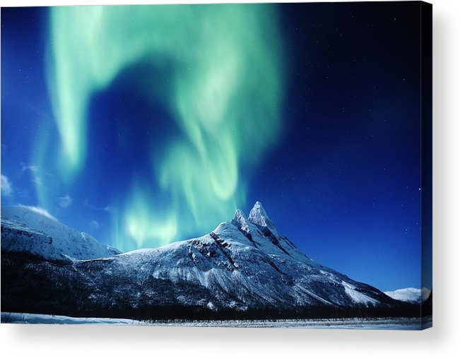 Nature Acrylic Print featuring the photograph Auroral Twist by David Broome