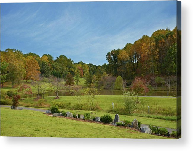 Isabela Cocoli Acrylic Print featuring the photograph Autumn Colors 3 by Isabela and Skender Cocoli