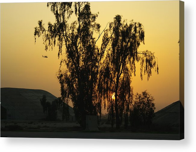 Sunset Acrylic Print featuring the photograph Back At It Again by Don Prioleau