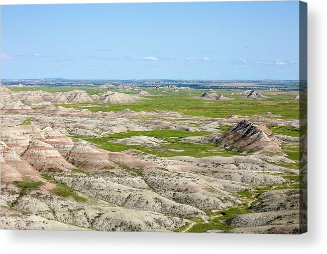 Badland Acrylic Print featuring the photograph Badland by Hyuntae Kim
