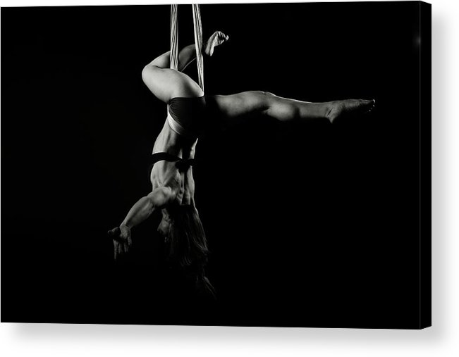 Fitness Acrylic Print featuring the photograph Balance Of Power 16 by Monte Arnold