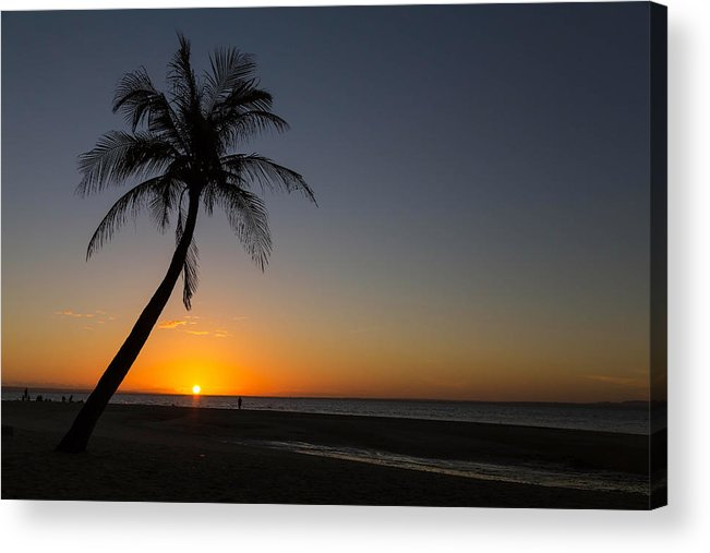 Palm Acrylic Print featuring the photograph Bantayan Sunrise by James BO Insogna