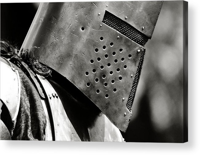 Knight Acrylic Print featuring the photograph Battle Ready by Scott Hovind