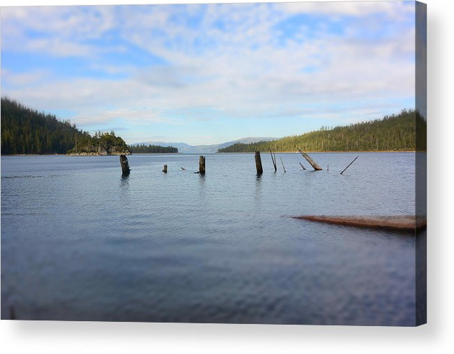Lake Tahoe Acrylic Print featuring the photograph Be Still by Sharon Wright