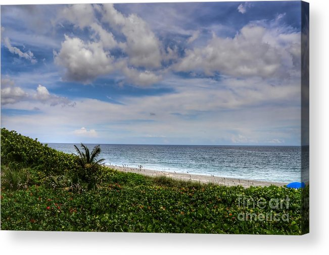 Landscape Acrylic Print featuring the photograph Beach Weather by Glenn Forman