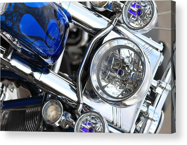 Acrylic Print featuring the photograph Bike-4 by John Pensis