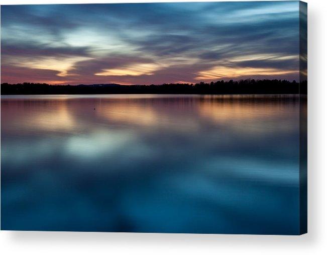 Arkansas Acrylic Print featuring the photograph Blue Skies Of Reflection by Jonas Wingfield