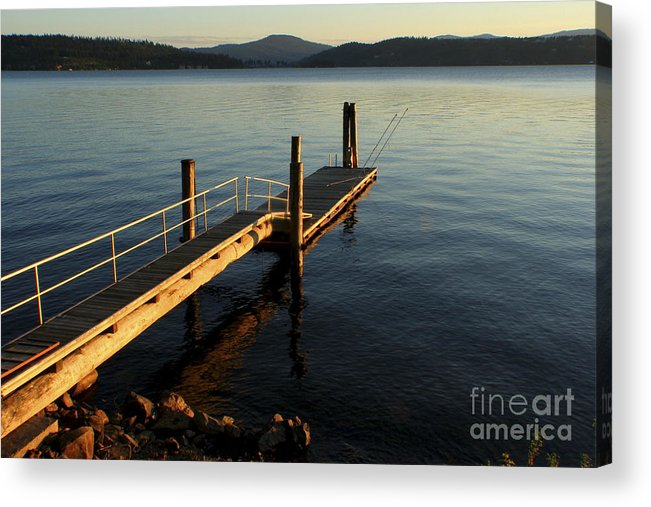 Tranquility Acrylic Print featuring the photograph Blue Tranquility by Idaho Scenic Images Linda Lantzy