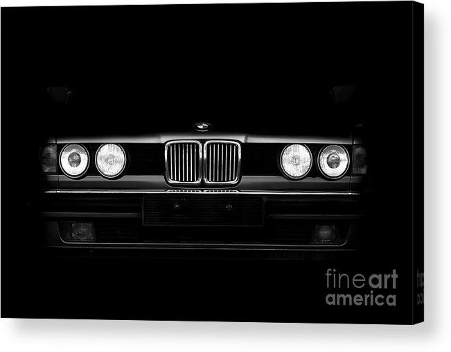 Bmw Acrylic Print featuring the photograph Bmw E32-01 by Clayton Moore