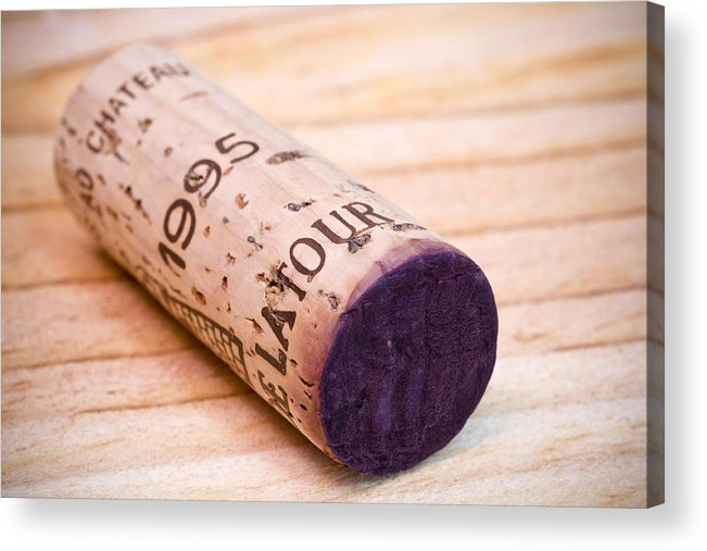 Bordeaux Acrylic Print featuring the photograph Bordeaux Wine by Frank Tschakert