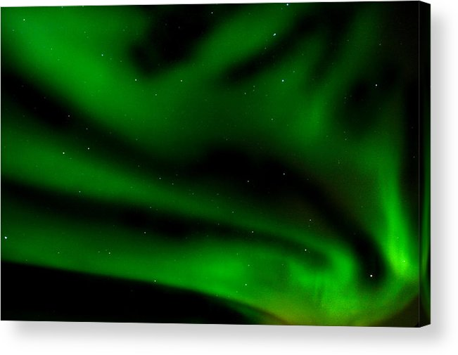 Iceland Acrylic Print featuring the photograph Borealis.spell by Jonelle Vette