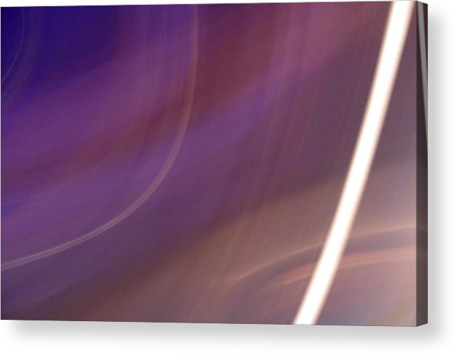 Violet Acrylic Print featuring the photograph Breakfast On Jupiter by Ilan and Oxana Aelion