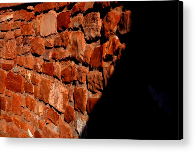 Landscape Acrylic Print featuring the photograph Brick Wall by Jennilyn Benedicto