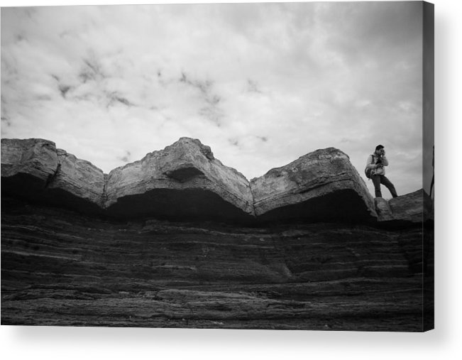 Black And White Acrylic Print featuring the photograph Bw 010 by Kam Chuen Dung