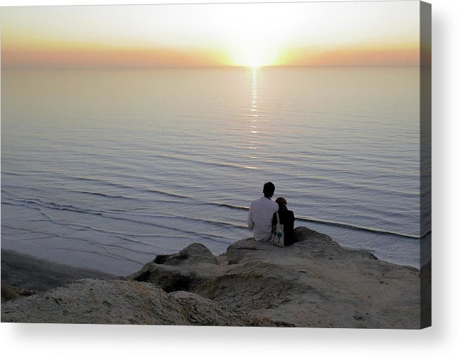 Pacific Acrylic Print featuring the photograph California Dreaming by Christine Till