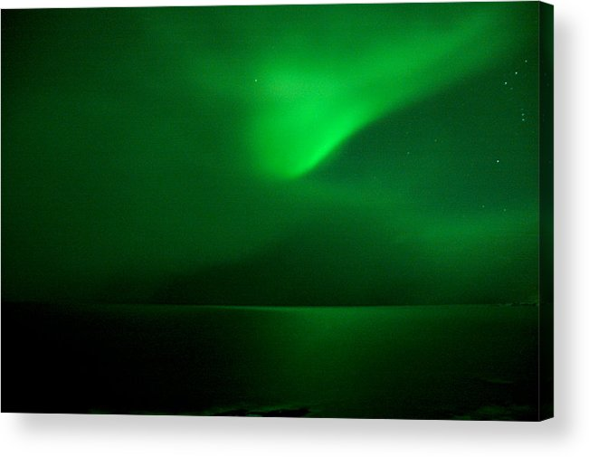 Iceland Acrylic Print featuring the photograph Calm.storm by Jonelle Vette