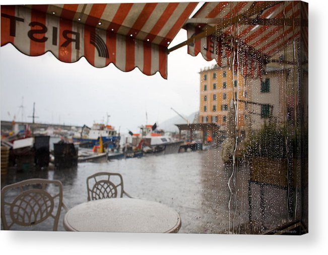 Italy Acrylic Print featuring the photograph Camogli 2 by Luigi Barbano BARBANO LLC
